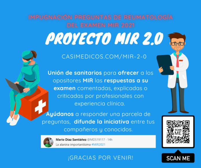 Impugnación preguntas de Reumatología del examen MIR 2021